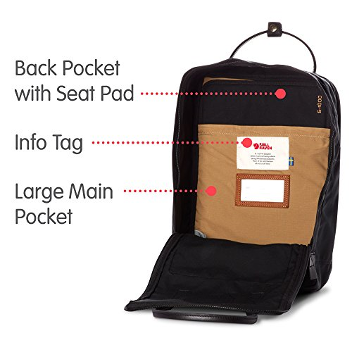 "16L No. 2 Laptop 15"" Backpack for Everyday, Black Edition"