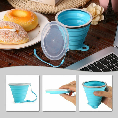 270ML Collapsible Stretchy Travel Water