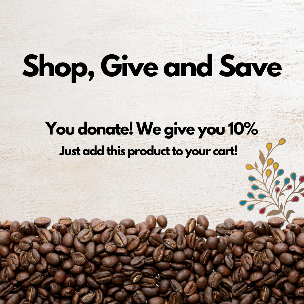 Donate, Give back to society with Kikos Coffee