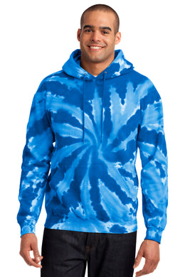Port & Company Tie Dye Pullover Hooded Sweatshirt