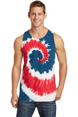 Port & Company Tie Dye Tank Top