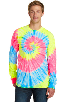 Port & Company Adult Long Sleeve Tie Dye Tee
