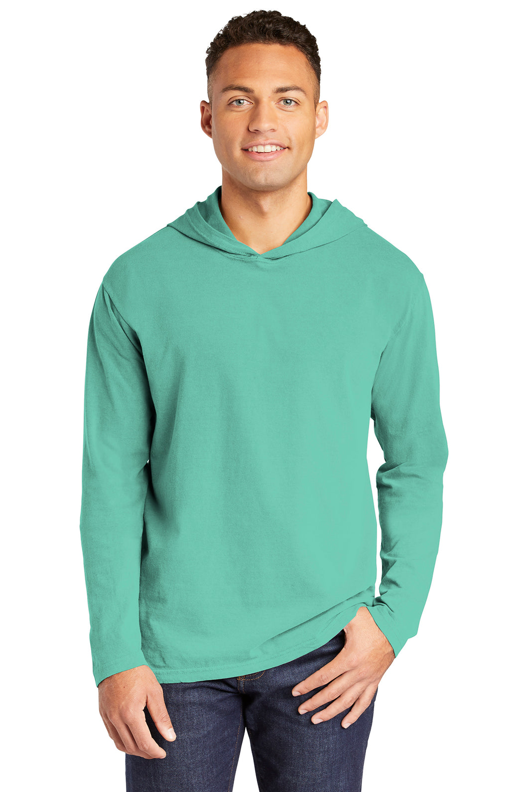 Comfort Colors Heavyweight Ring Spun Long Sleeve Hooded Tee