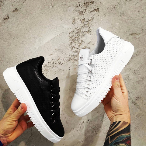 Fashion Sneaker 👟 leather