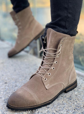 Leather Boots suede
