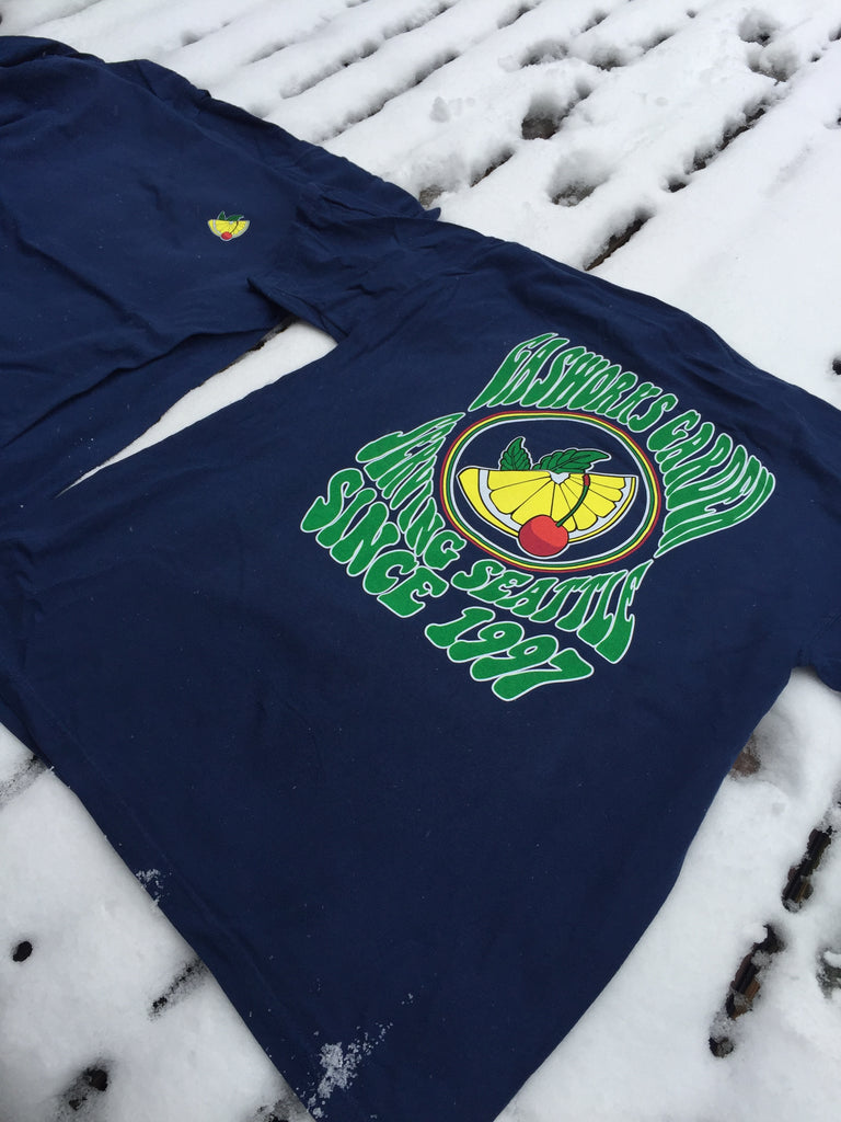 Serving Seattle Tee  (Back Print)