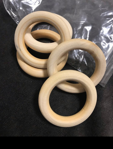 45mm Wooden ring