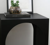 ARCH SIDE TABLE – EBONIZED