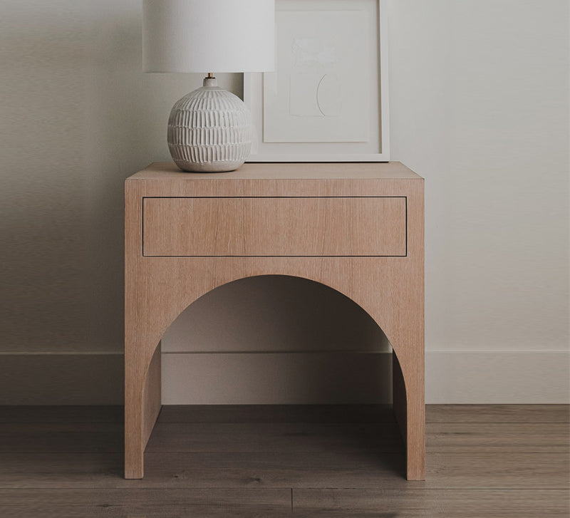Arched Nightstand