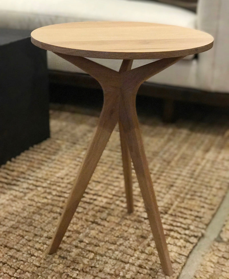 Hettricks Side Table - White Oak