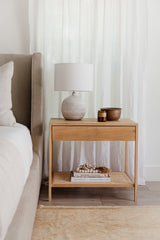 RESERVED FOR ANDREW Davis Nightstand with cane
