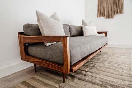 Arrow Sofa - Walnut