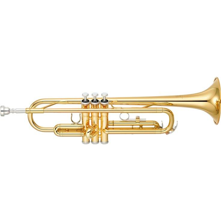YAMAHA YTR2330 STUDENT TRUMPET GOLD LAQUER - Arties Music Online