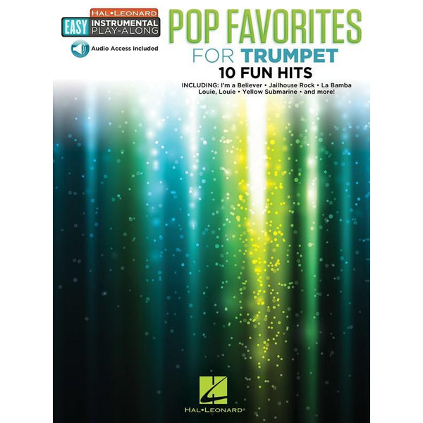 HAL LEONARD POP FAVORITES FOR TRUMPET