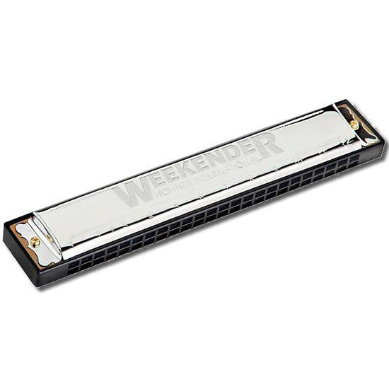 Hohner Weekender-24 Tremolo Harmonica in the Key of C