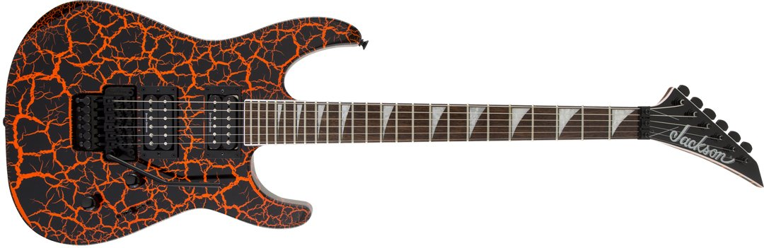 X Series Soloist SLX Crackle Laurel Fingerboard Orange Crackle