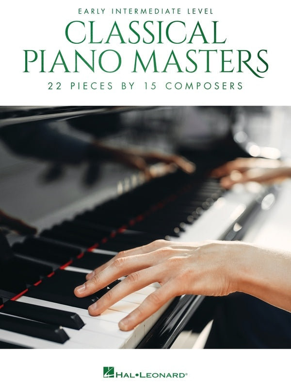 CLASSICAL PIANO MASTERS EARLY INTERMEDIATE LEVEL