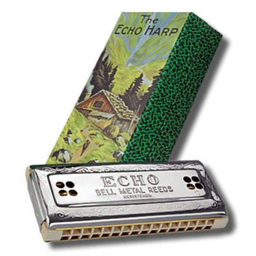 Hohner Echo Harp 2x32 Tremolo Harmonica in the Keys C, G