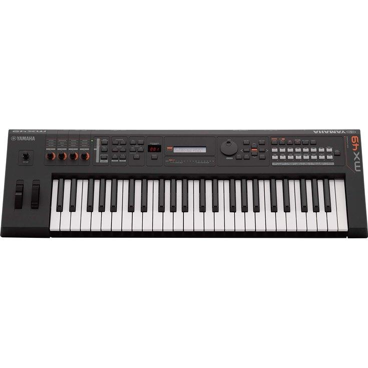 YAMAHA MX49 SYNTHESIZER BLACK