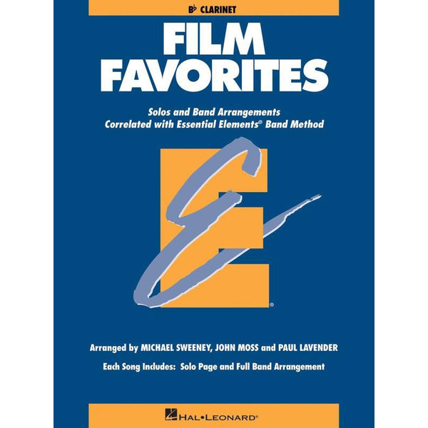 ESSENTIAL ELEMENTS (CLARINET) FILM FAVORITES