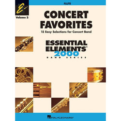 ESSENTIAL ELEMENTS (FLUTE) CONCERT FAVORITES BK 2
