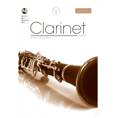 AMEB CLARINET SERIES 3 - RECORDING AND HANDBOOK - GR3/GR4