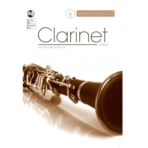 AMEB CLARINET SERIES 3 - RECORDING AND HANDBOOK - PRELIM/GR1/GR2
