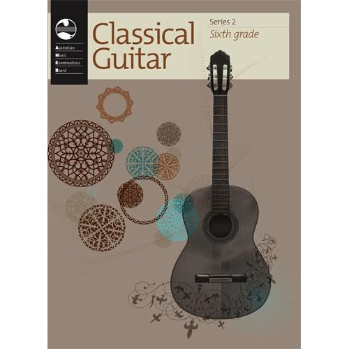 AMEB CLASSICAL GUITAR SERIES 2 - GRADE 6