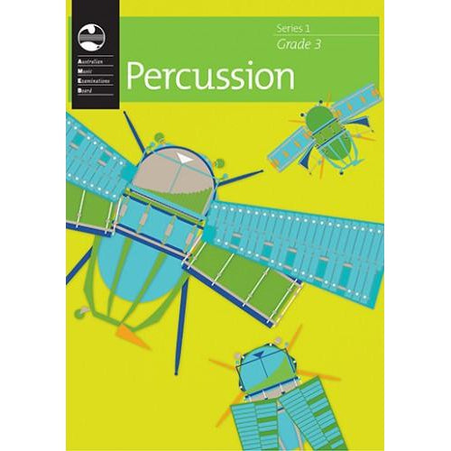 AMEB PERCUSSION SERIES 1 - GRADE 3 - Arties Music Online