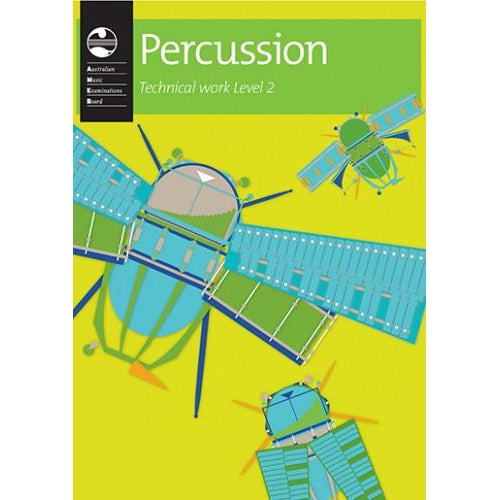 AMEB PERCUSSION SERIES 1 - TECHNICAL WORKBOOK LVL 2 - Arties Music Online