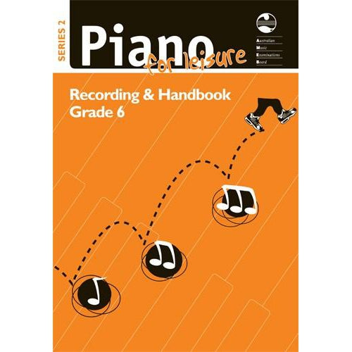 AMEB PIANO FOR LEISURE SERIES 2 RECORDING & HANDBOOK (GR 6) - Arties Music Online