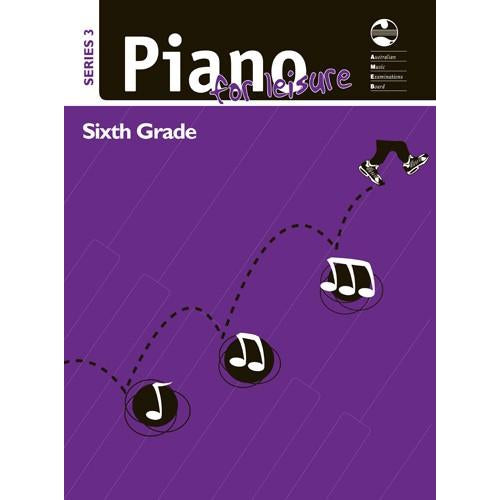 AMEB PIANO FOR LEISURE SERIES 3 - GRADE 6 - Arties Music Online