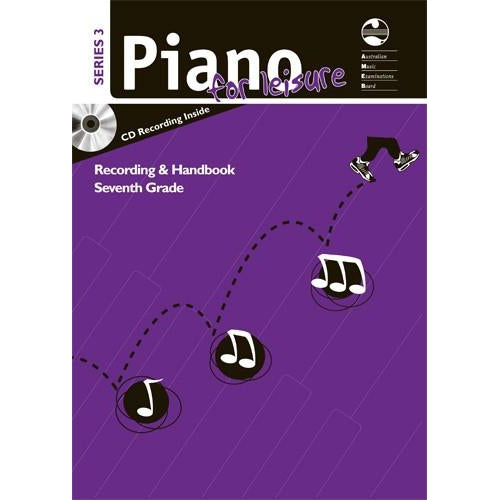 AMEB PIANO FOR LEISURE SERIES 3 RECORDING & HANDBOOK (GR 7) - Arties Music Online