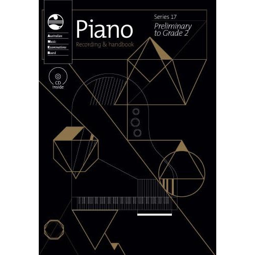 AMEB PIANO SERIES 17 HANDBOOK - PRELIM TO GR 2