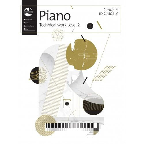 AMEB PIANO SERIES 18 TECHNICAL WORKBOOK - GR 5 TO GR 8 - Arties Music Online