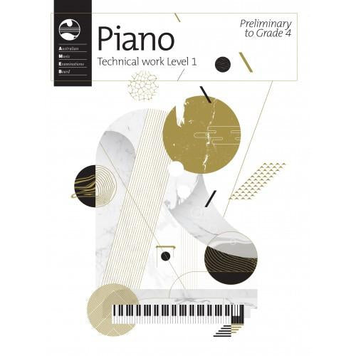 AMEB PIANO SERIES 18 TECHNICAL WORKBOOK - PRELIM TO GR 4 - Arties Music Online