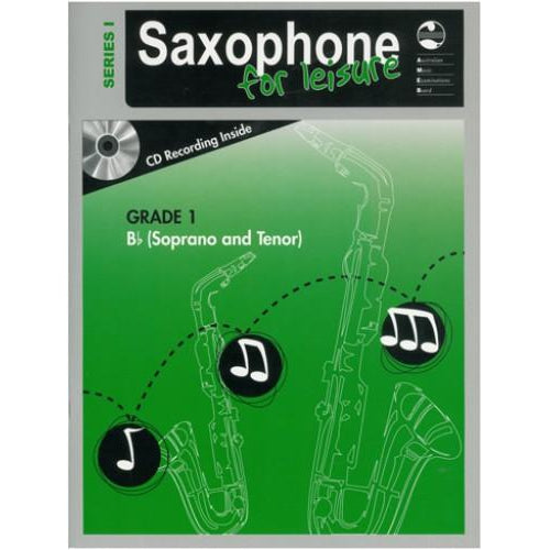 AMEB SAXOPHONE FOR LEISURE (Bb) SERIES 1 - GRADE 1 - Arties Music Online