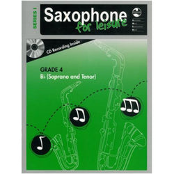 AMEB SAXOPHONE FOR LEISURE (Bb) SERIES 1 - GRADE 4