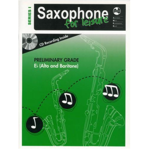 AMEB SAXOPHONE FOR LEISURE (Eb) SERIES 1 - PRELIMINARY - Arties Music Online