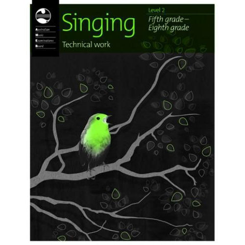 AMEB SINGING SERIES 2 - TECHNICAL WORKBOOK - Arties Music Online