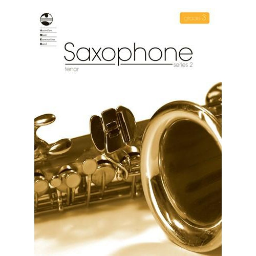 AMEB TENOR SAXOPHONE SERIES 2 - GRADE 3 - Arties Music Online