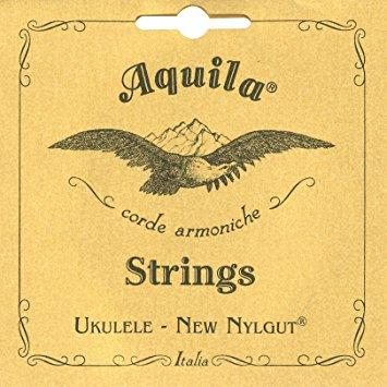 AQUILA BARITONE UKULELE NYLON STRINGS - LOW D TUNING
