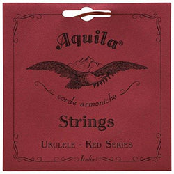 AQUILA SOPRANO UKULELE RED SERIES STRINGS - LOW G TUNING