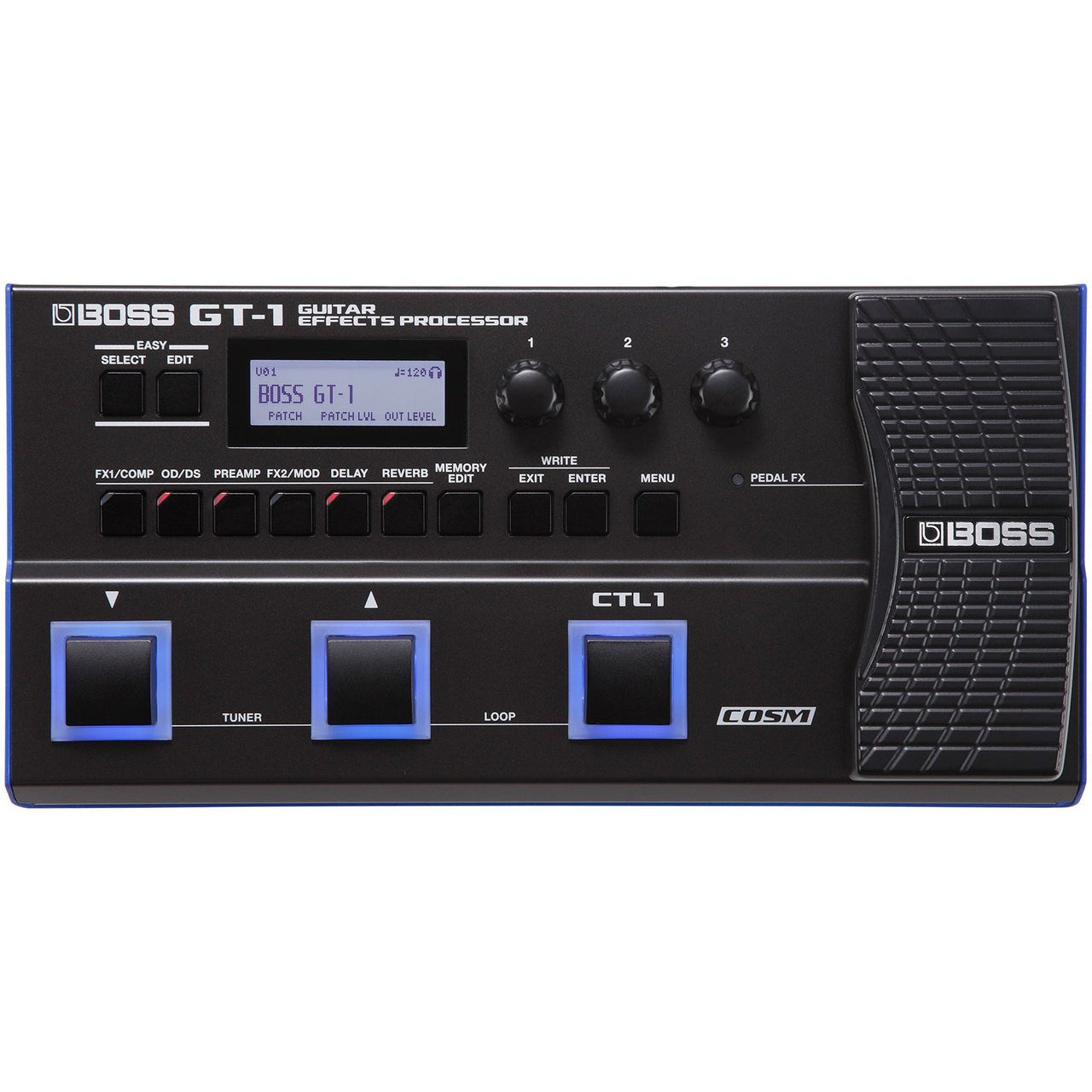 BOSS GT-1 GUITAR EFFECTS PROCESSOR - Arties Music Online