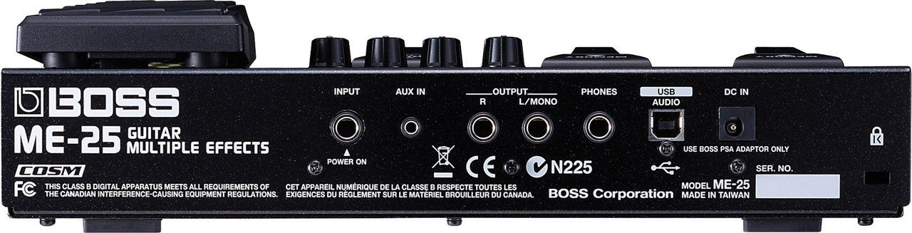 BOSS ME-25 GUITAR MULTI EFFECTS PEDAL - Arties Music Online