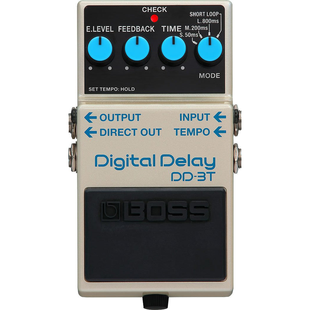 BOSS DD-3T DIGITAL DELAY PEDAL - Arties Music Online