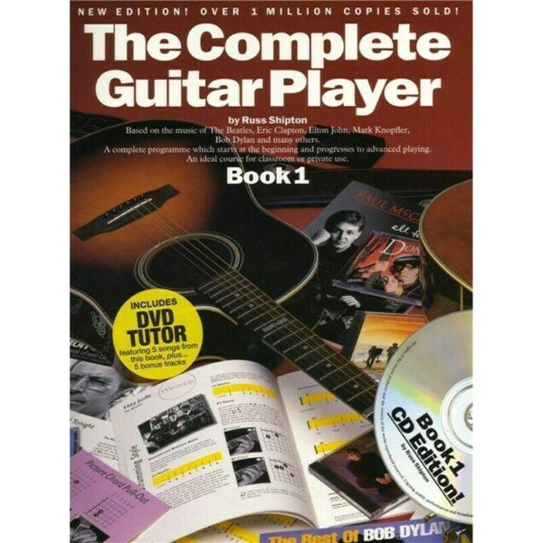 Complete Guitar Player Bk 1 New Edition Bk/CD/DVD