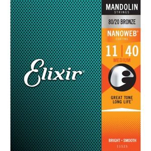 ELIXIR NANOWEB MANDOLIN STRINGS 11-40 MEDIUM