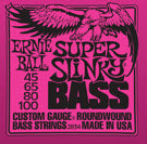 BASS GTR STR SET 45/100 SUPER SLINKY PINK