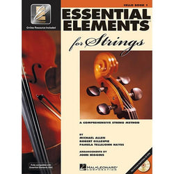ESSENTIAL ELEMENTS FOR STRINGS - CELLO BK 1